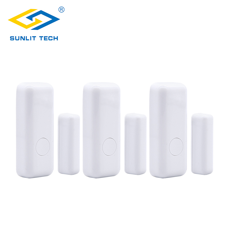 Sensor & Detector Security Alarm 1/3/6/10pcs/lot Wireless Window Door Switch Sensor For 433mhz Wifi Door Opening Sensor Alarm System For Home Burglar Security