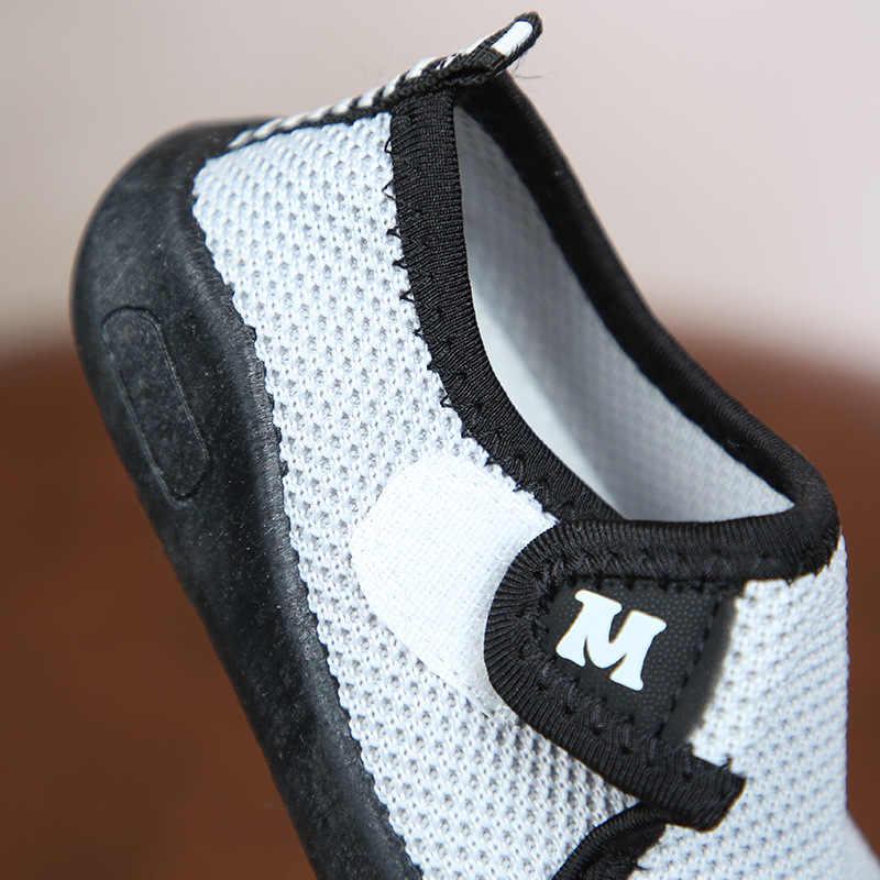 Mới Giày Cho Bé Đầu Tiên Xe Tập Đi Đế Mềm Giày Sneaker Giày Thời Trang Mùa Hè Mềm Cũi Giày Trẻ Em Bé Trai Cổ Chống Trơn Trượt