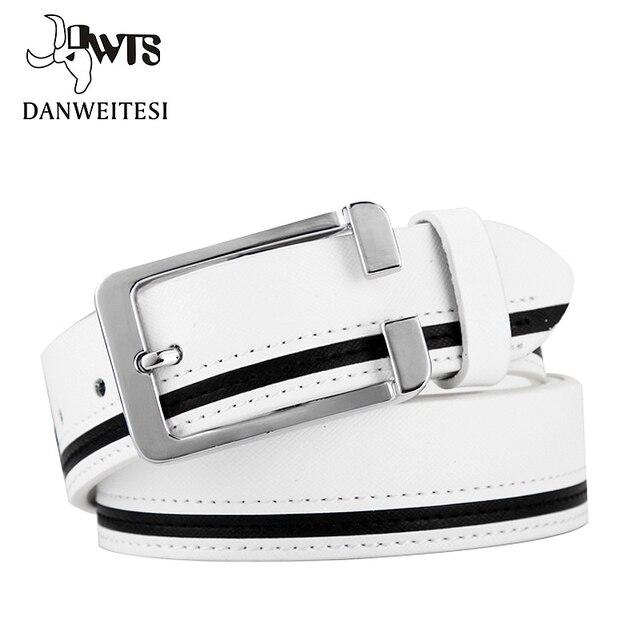 [Dwts] 2016 primera marca de lujo de los hombres cinturones cinturones correa de la cintura masculina faux cinturón de piel de vaca para los hombres cinturones hombre ceinture waistband