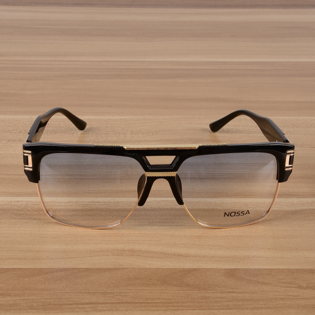 b5bb435560 New Personality Big Frame Clear Lens Eyeglasses Men And Women Fashion Cool  Spectacles Male Female Fashion