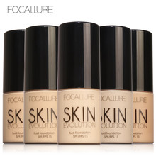 FOCALLURE Face Foundation Makeup Base Liquid Foundation BB Cream Concealer Whitening Moisturizer Oil-control Maquiagem SPF15