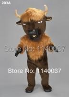 Маскоты Бизон буйвола Маскоты костюм быка Маскоты пользовательские мультипликационный персонаж карнавальный костюм маскарадный костюм п