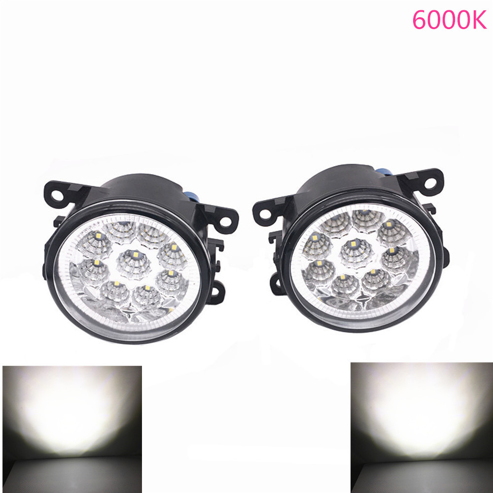 Automobiles & Motorcycles For Citroen C4 La_ Lc_ 2004-2008 2009-2011 9-pieces Leds Chips Led Fog Light Lamp H11 H8 12v 55w Halogen Fog Lights Car Lights