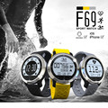 F69 Smart Watch IP68 Waterproof Pedometer Sedentary Reminder Heart Rate SMS Reminder Smartwatch for Iphone Android pk k88h