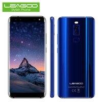 Leagoo Celular S8 4 גרם LTE Smartphone 5.72 Inch 18:9 תצוגה 7.0 אוקטה Core 3 + 32 GB 13.0MP אנדרואיד 4 מצלמות סלולרי טביעת אצבע טלפונים