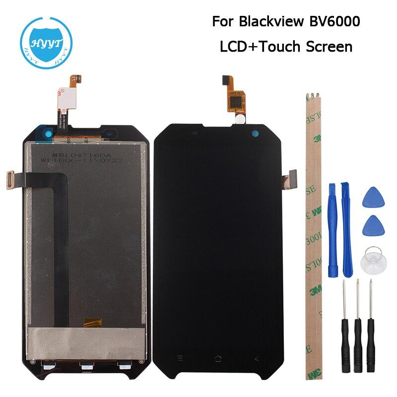 imágenes para Para BlackView Bv6000S LCD Pantalla y Pantalla Táctil de Reemplazo Digitalizador Asamblea Con Herramientas Para BlackView Bv6000