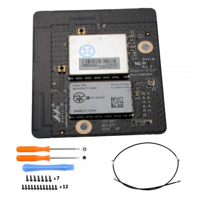 US $24 99 |Used WiFi Bluetooth Signal Board Antenna CableTorx T8H T6 for  Xbox One Console-in Replacement Parts & Accessories from Consumer  Electronics