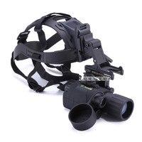 1.5X Hunting Night Vision IR Infrared Head Monocular Device Waterproof 150m Full Dark Night Vision Scope With Helmet 55 1X