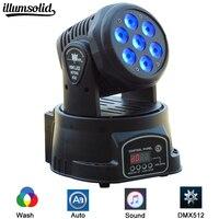 DMX WASH RGBW 7x12w LED Inno Pocket Spot Moving Head Light DMX dj stage lights