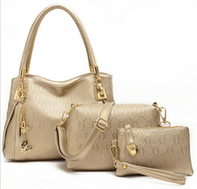 Chispaulo mode marke echtes leder handtasche frauen vintage kuh leder umhängetasche handtasche + messenger bag purse + 3 sätze heißer