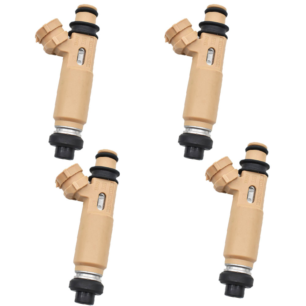 4 Uds 23250-74170, 23209-74170 inyector de combustible boquilla para Toyota Avensis RAV4 Camry/Vista Corona Townace/FJ Carina FF ED Cad