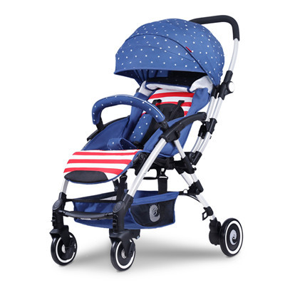 Newborn Baby Strollers High View Wider Seat Cars Folding Easily Carriage light travel baby stroller Suspension BB Pram