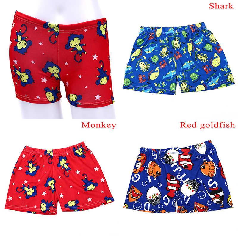 شورت سباحة للأطفال الصغار ملابس سباحة للأطفال على شكل رسوم كرتونية شورت للشاطئ والسباحة
