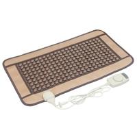 POP RELAX смешанных Турмалин jade инфракрасное Отопление Магнитная терапия плоский коврик Mattres Германия/турмалин камень физиотерапии pad