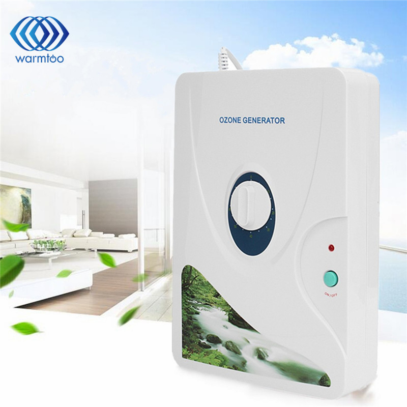 600mg/h Air Purifier Portable Ozone Generator Multifunctional Sterilizer Air Purifier for Home Vegetable Fruit Purify US plug commercial portable 110v medical ozone water air sterilizer for hospital 600mg hr fm c600