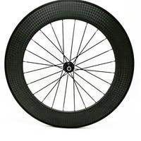 700c carbon wheels Straight pull powerway R36 ceramics 12k road bike wheel 88x25mm tubular rear bike road wheel
