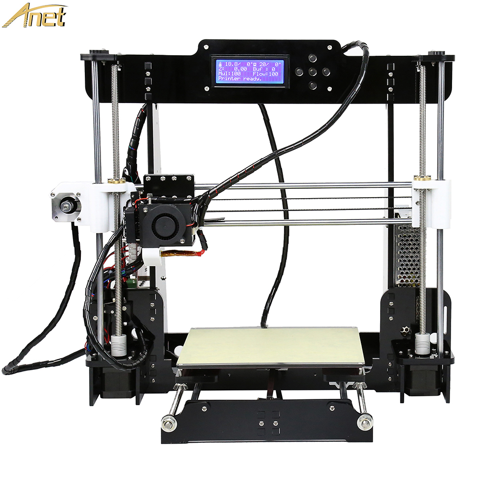 Anet E12 E10 A8 A6 Auto leveling Cheap 3D Printer kit DIY Reprap Prusa i3 3D