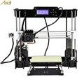 Anet E12 A8 A6 nivelación automática A8 barato 3D kit de Impresora DIY Reprap Prusa i3 3D Impresora con PLA 10m filamento Impresora 3d drucker