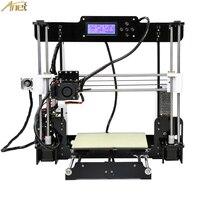 Anet E12 E10 A8 A6 Auto leveling Cheap 3D Printer kit DIY Reprap Prusa i3 3D Printer Impresora 3d drucker with PLA 10m Filament