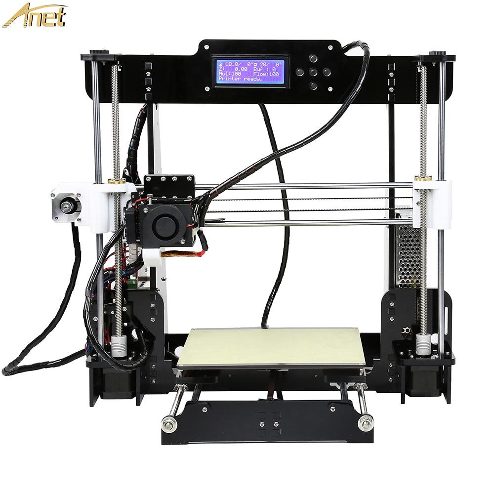 Anet E12 E10 A8 A6 nivellement automatique pas cher imprimante 3D kit bricolage Reprap Prusa i3 3D imprimante Impresora 3d drucker avec PLA 10 m FilamentAnet E12 E10 A8 A6 nivellement automatique pas cher imprimante 3D kit bricolage Reprap Prusa i3 3D imprimante Impresora 3d drucker avec PLA 10 m Filament