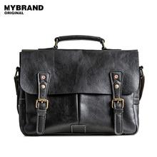 Mybrandoriginal сумки через плечо натуральная кожа сумка мужчины портфели через плечо сумки для парня Сумочка Повседневная мужская кожаная сумка B104