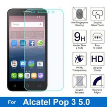 Для Alcatel One Touch Pop 3 5,0 защита экрана 2.5D Взрывозащищенная пленка из закаленного стекла для Onetouch Pop3 5 5015D 5065D 5015X