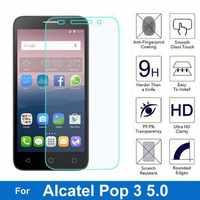 Protector de pantalla para Alcatel One Touch Pop 3 5,0, película de vidrio templado a prueba de explosiones 2.5D para Onetouch Pop3 5 5015D 5065D 5015X