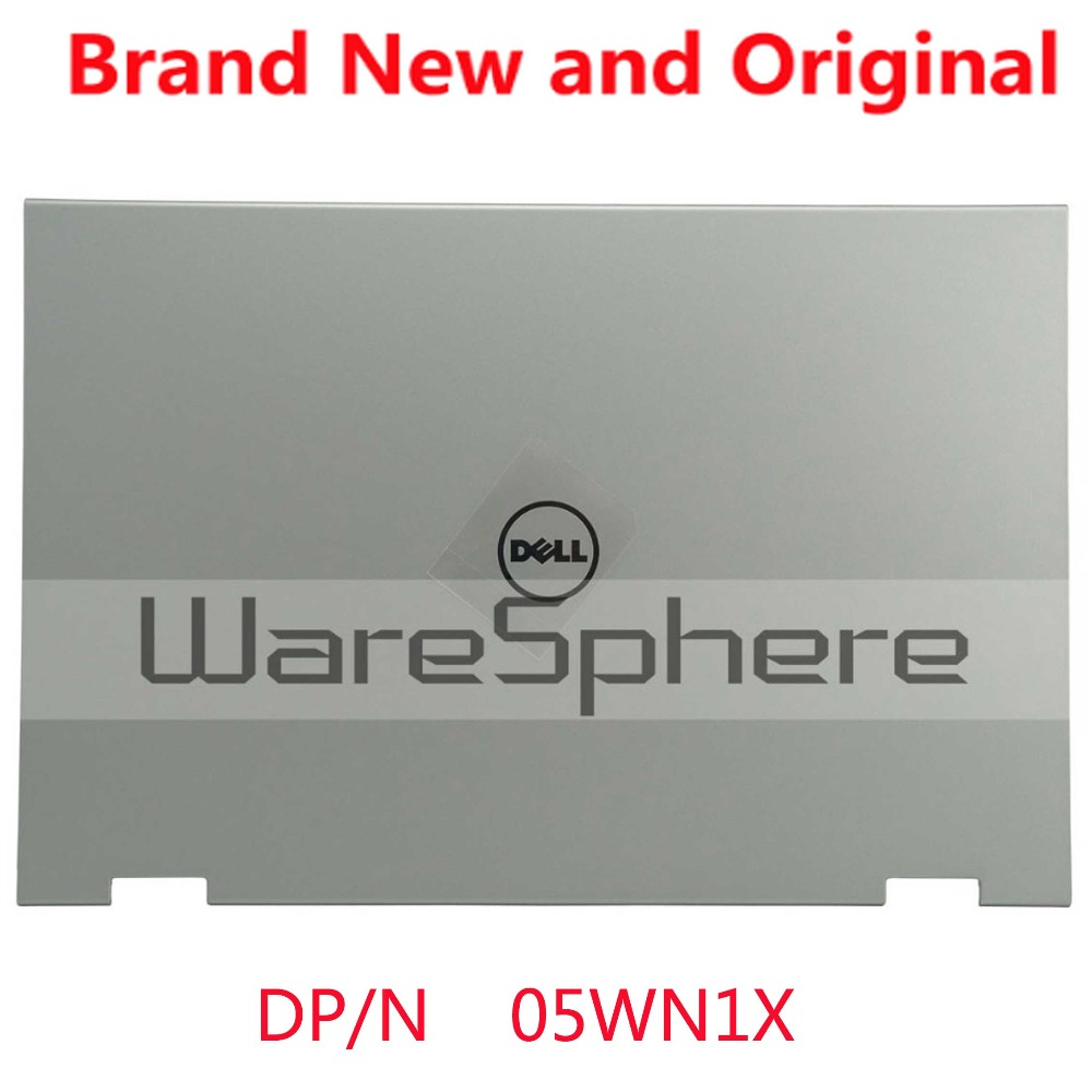 NEW Laptop Lcd rear cover Back Cover For Dell Inspiron 13-7347 7347 7348 7359 LCD Back Cover A Shell 05WN1X 5WN1X Silver цена