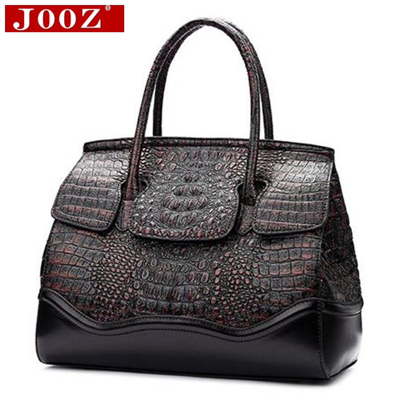 Genuine leather Women Bag Designer crocodile Handbags Luxury quality Lady Shoulder Crossbody Bags Embossed women Messenger Bag genuine leather women bag designer crocodile handbags luxury quality lady shoulder crossbody bags embossed women messenger bag