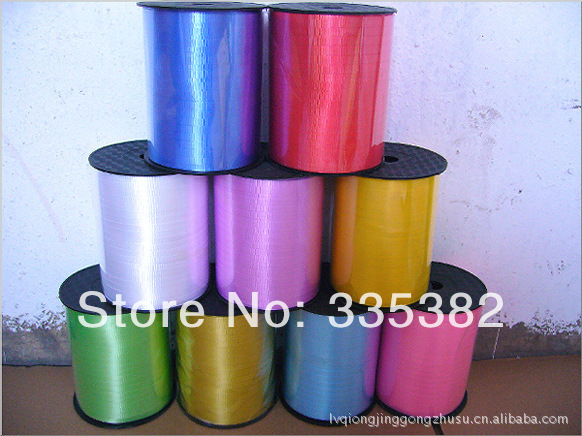 High Quality 5mm 500yards amboss balloon ribbon for wedding party birthday ballo