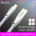Brand hoco Original USB Charging Cable For Lightning Charger For Apple iPhone iPad USB Otg Data Cable Gold Mobile Phone Cables