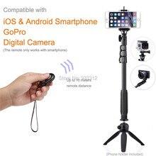 """Bluetooth obturador de la cámara + trípode original yunteng18-50 """"autorretrato selfie stick monopie para samsung s7/para sony inteligente teléfonos"""