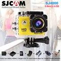 Novo! Original SJCAM SJ4000 2.0 Cam Mergulho 30 M À Prova D' Água extrema HD camara 1080 P Full HD de ação SJ 4000 camcorder câmera de esportes