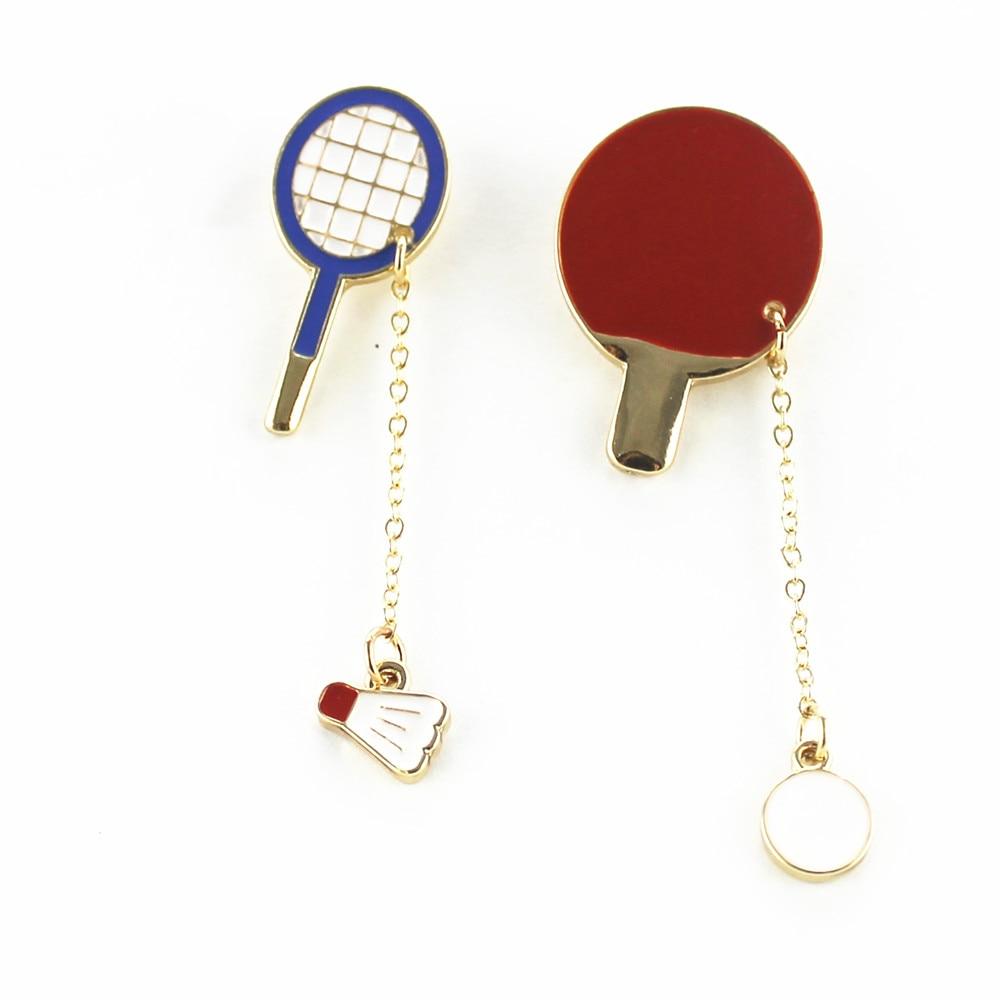 Buy new fashion sports enamel badminton for Buying jewelry on aliexpress