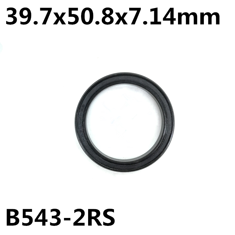 1Pcs B543-2RS 39.7x50.8x7.14 mm headset replacement bearing MAX repair bearing bicycle bearing B543 abxg 23327 2rs speed connection drum bearing 23327 2rs for sram bicycle hub repair parts bearing 23x32x7 mm 23 32 7 mm