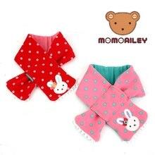 Корейский зимний детский шарф; милый короткий теплый шарф для маленьких девочек; сезон осень-зима