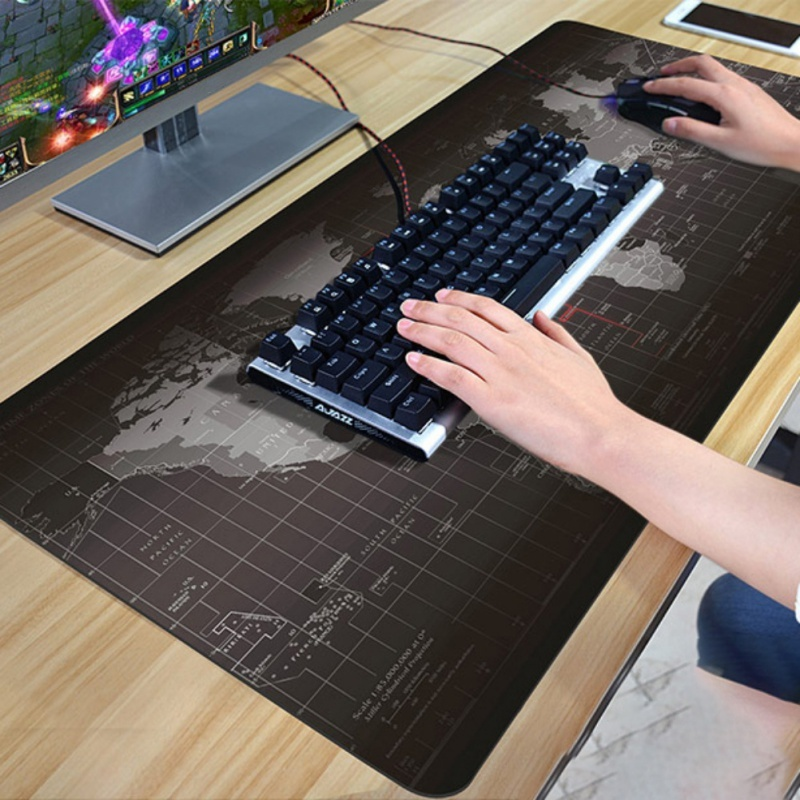 Fashion Old Map Mouse Pad Big Pad Mouse Notbook Computer Mousepad Gaming Mouse Mats To Mouse Gamer lori оригами подставка под сотовый телефон бабочки lori