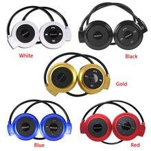 MINI503 Sport cuffie senza fili Bluetooth cuffie Stereo lettore musicale Mp3 cuffie auricolare Micro SD Card Slot Radio FM Mic