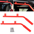 1 Set Red Rear Roll Bar Grab Handles Gra Bars For Jeep/Wrangler JK Rubicon 2007-2016