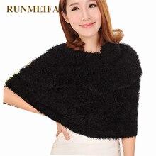 RUNMEIFA 2019 冬の新レディースマジックスカーフ暖かい女性の女性のためのスカーフソフト多機能ショール屋外スカーフストール