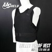 AA SHIELD непробиваемая майка маскируемая баллистическая броня для тела арамидный сердечник вставка для самозащиты Lvl IIIA 3A Black черный