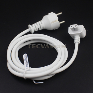 Image 4 - New AC Power Adapter EU Europe Plug Extension Cord 1.8M 6ft Cable For Mac for MacBook Pro Laptop Adapter Charger Type