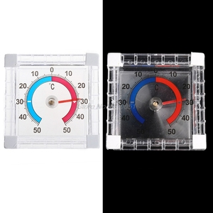 Image 2 - Temperature Thermometer Window Indoor Outdoor Wall Greenhouse Garden Home