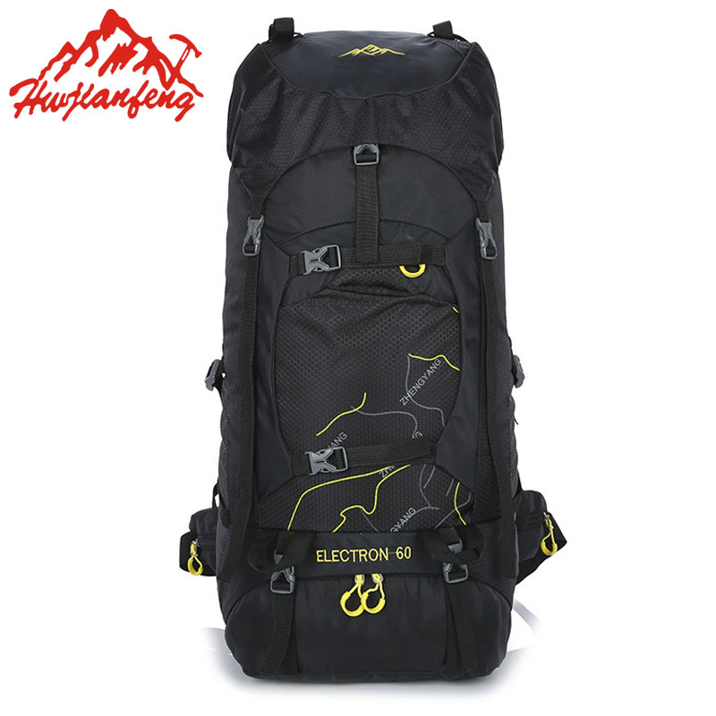 60L Outdoor Bags Backpacks Camping Hiking Sport Bag Waterproof Backpack Mountain Trekking Climbing Cycling Rucksack Travel Bag anmeilu waterproof unisex travel bag 20l outdoor bicycle bike bags mountain camping climbing rucksack outdoor hiking hunting bag