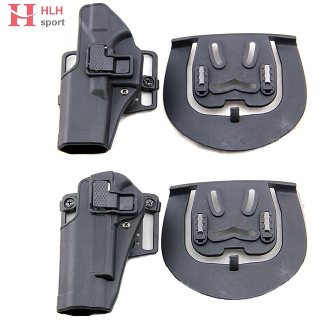 US $10 04 20% OFF|Aliexpress com : Buy Hlhsport Tactical Left Hand Pistol  Holster for Glock 17 19 22 23 1911 M9 M92 Military Concealment Waist Belt