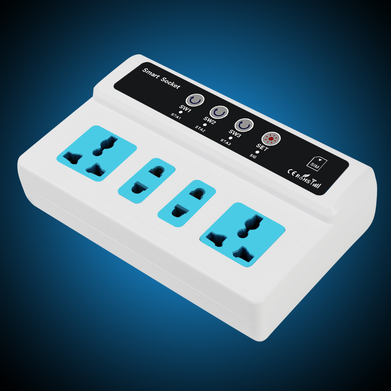 Security & Protection Popular Brand Gsm Sms Remote Control Smart Power Switch Plug Socket Jack Sc4-gsm 4 Channel Relay Output With Temperature Sensor