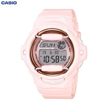 Наручные часы Casio BG-169G-4B женские электронные на пластиковом ремешке