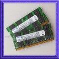 4 ГБ 2 X 2 ГБ PC2-5300 DDR2 667 мГц SO-DIMM 200 контакт. ноутбука DDR2 2 X 2 ГБ ноутбук 512ram памяти бесплатная доставка