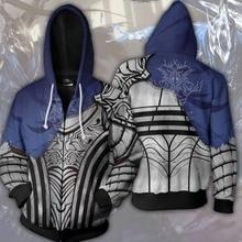 SzBlaZe Game Dark Souls Print Hoodies Cartoon Humor Funny Anime Pullovers Casual Sweatshirt CosPlay Pant Autumn Clothing