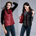 Women's Autumn And Winter Double Dress Vest Sleeveless Jacket Slim Vest Women's Jacket Vest Fashion Puffer Vest Pluse Size A2264